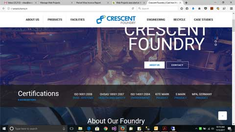 Crescent Foundry Company Private Limited